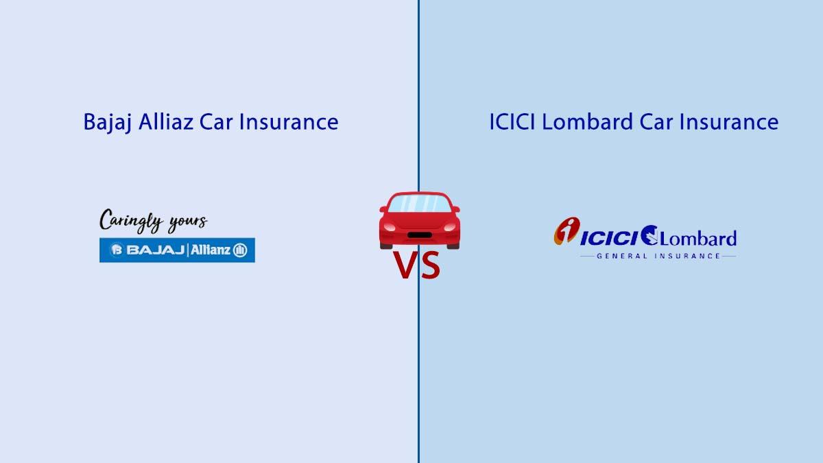 Compare Bajaj Allianz vs Bharti Axa Car Insurance Quotes